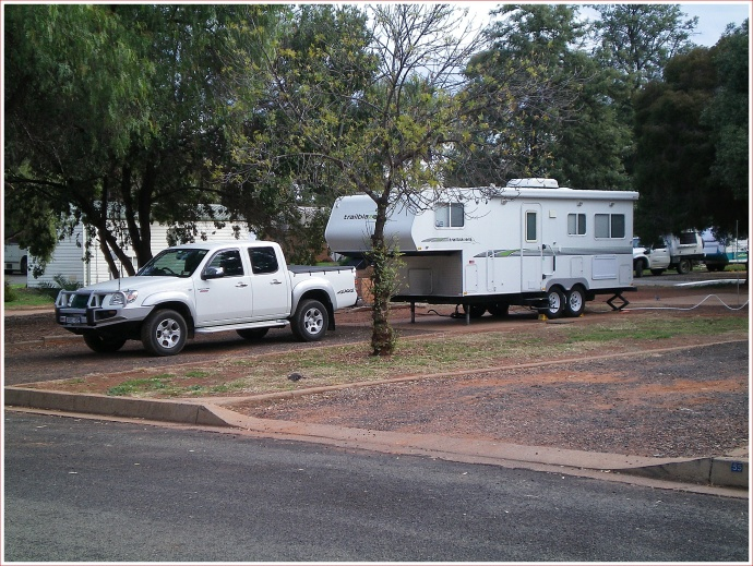 Good Spot at Cobar Caravan Park