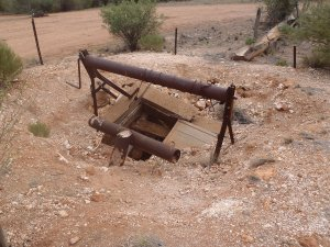 Abandoned Mine at Gascoyne River Rest Area