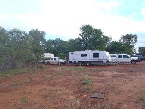Doubling Up at Sandfire Roadhouse Caravan Park