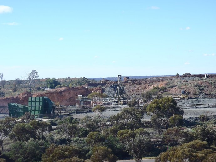 View from the platform at WA Museum