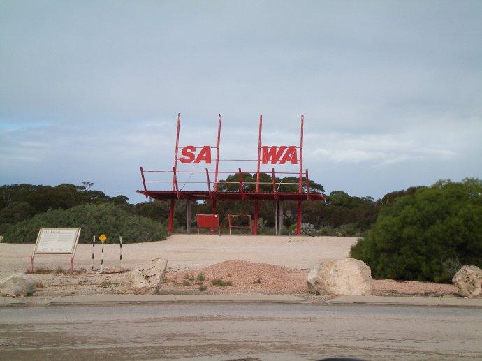 SA - WA Border
