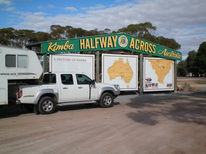 Kimba - Half Way Across Australia