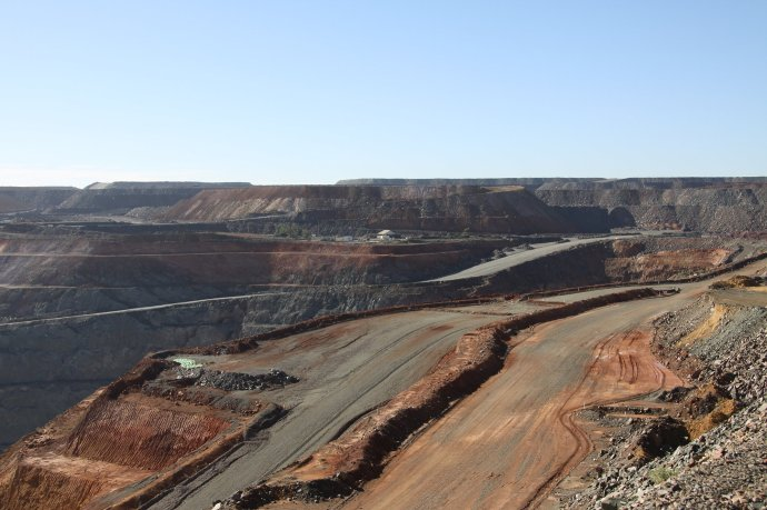 View of the Super Pit