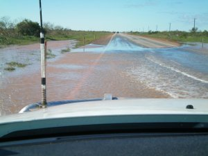 Water on the Road