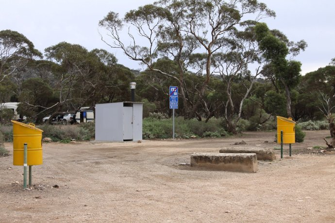 Moodini Bluff Rest Area Facilities
