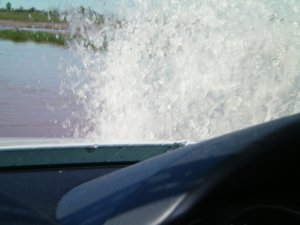 Water on the Road on the Ute