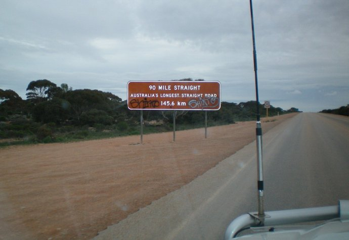 The Longest Straight Stretch of Road in Australia