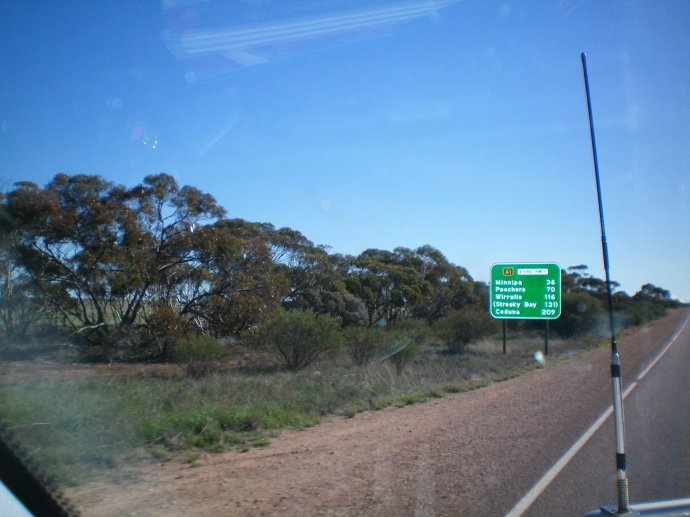 Lots of Bushland Along the Way