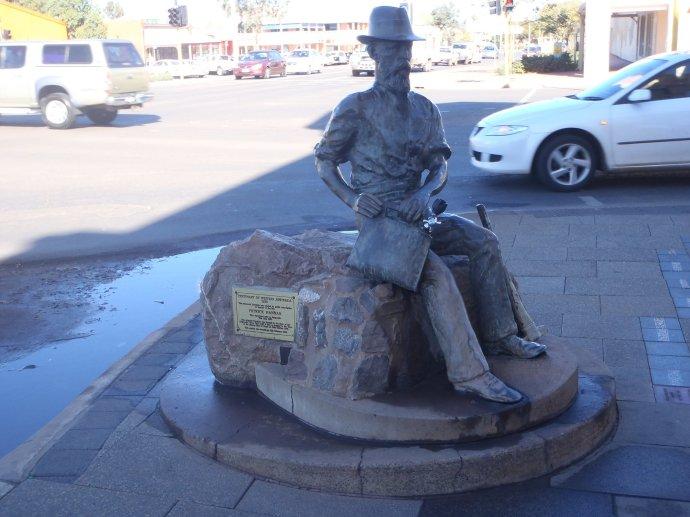 Statue of Patrick Hannan