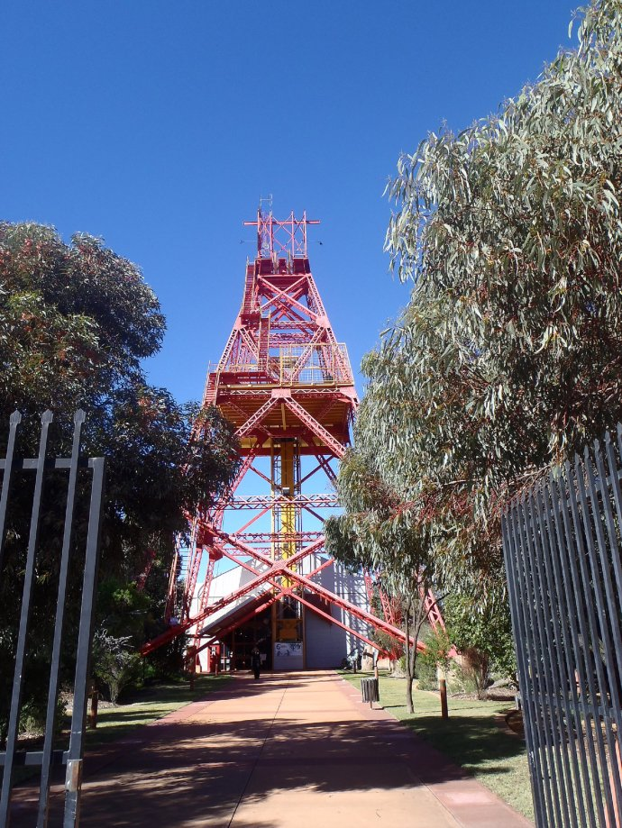 Entrance to WA Museum at Kalgoorlie-Boulder