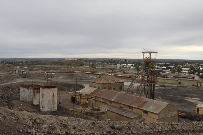 Old mine near Memorial
