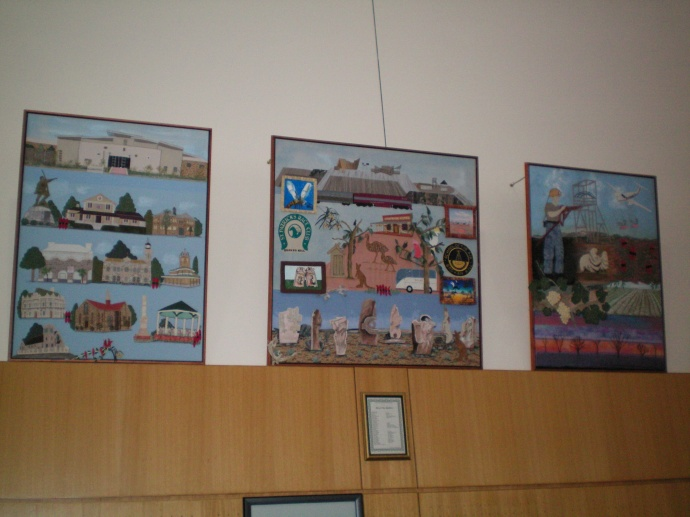 Broken Hill Base Hospital Display Quilts