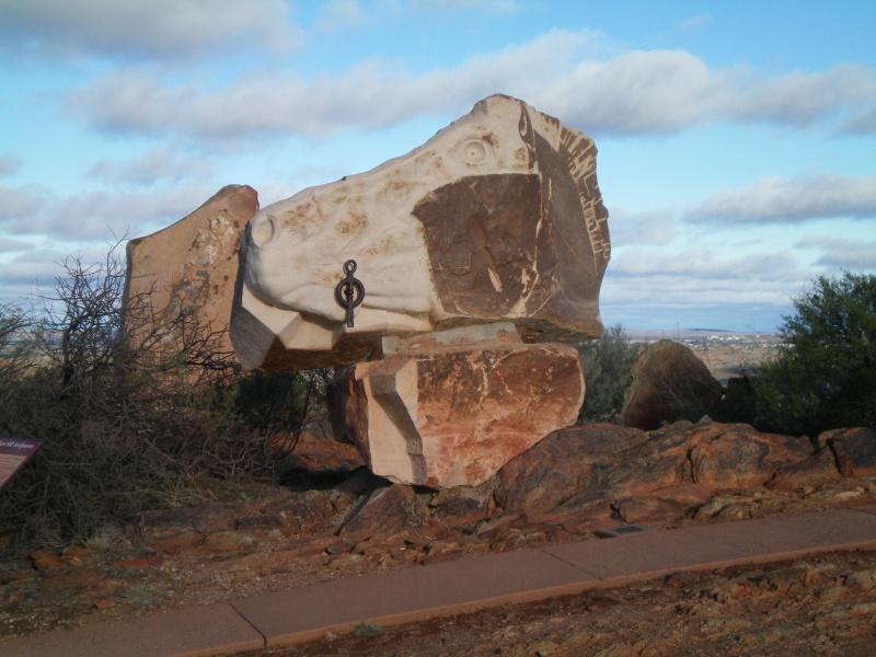 Broken Hill Desert Living Sculpture