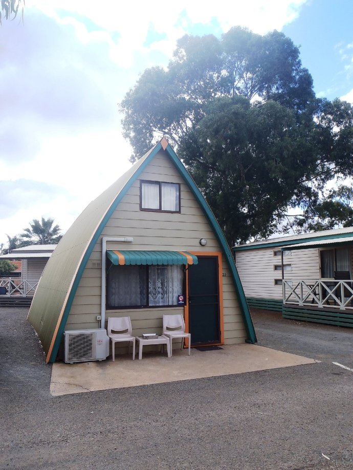 Unique Cabins in the Caravan Park