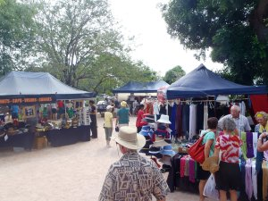 Clothing Stalls at Courthouse Markets