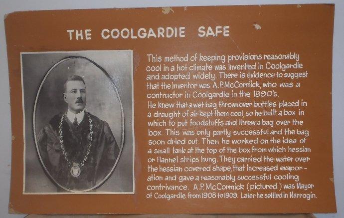 Coolgardie Safe Story