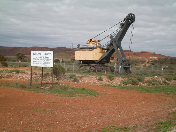 Iron Knob - Birthplace of the Australian Steel Industry