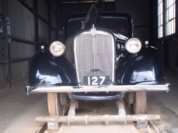 Morris Motor Inspection Car