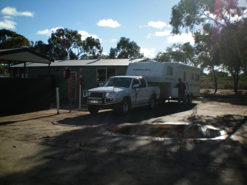 Unhitching at Broken Hill