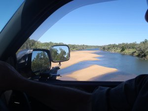 Crossing the Fitzroy River