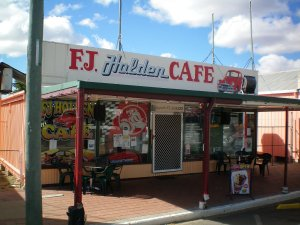 FJ Holden Cafe