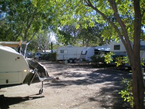 Set Up in Mount Isa Caravan Park