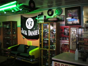Inside the FJ Holden Cafe