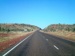 Arriving at Tennant Creek