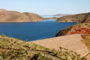 Lake Argyle - Dam Wall