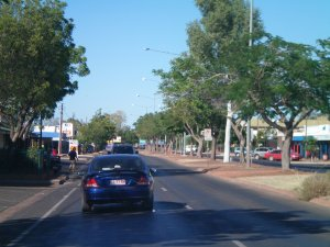 Main Street of Tennant Creek