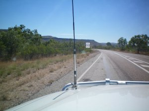 130 kph Speed Limit in NT