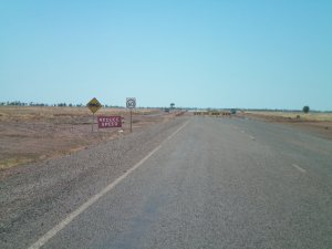 Barkly Highway Roadworks in NT