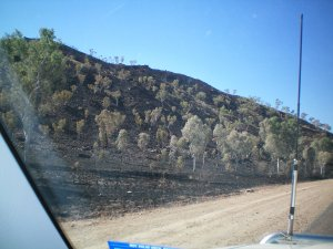 Mountain After Burning Off