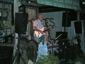 Steve Still Rocking at Daly Waters Pub