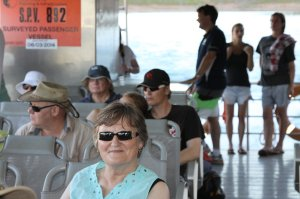 Lake Argyle Tour Passengers