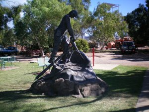 Tribute to Miners at Outback at Isa