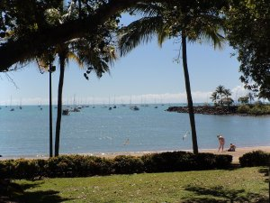Nice views at Airlie Beach