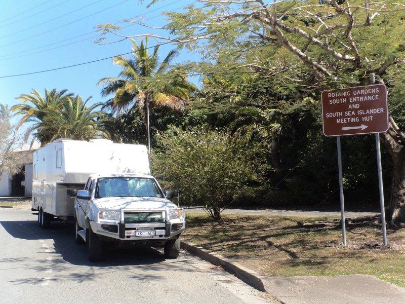 Outside Mackay Visitor Info Centre & Botanical Gardens