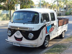 Kool Kombi Pizza Delivery Van at Hervey Bay