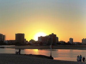 Sunset at Cotton Tree Maroochydore