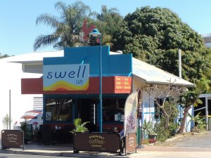 Swell Cafe at Hervey Bay