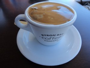 Swell Cafe Makes Delicious Coffee using Beans from Byron Bay