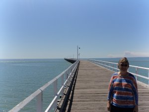 The Pier in nearly 1 km long