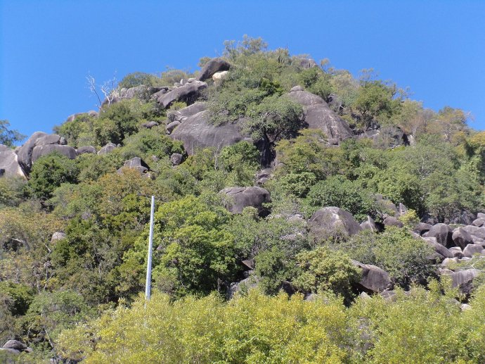 Mountainous Outcrop on Magnetic Island