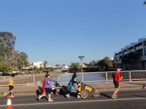 Batman at the Sunshine Coast Marathon
