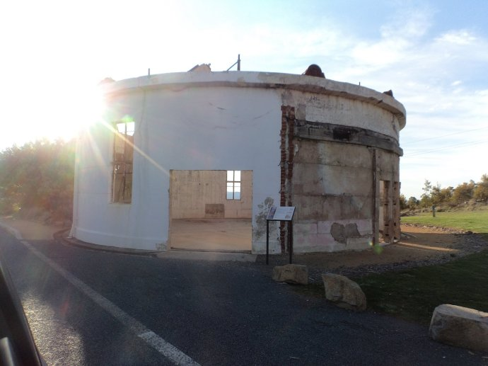 Burnt out Building at Mount Stromlo