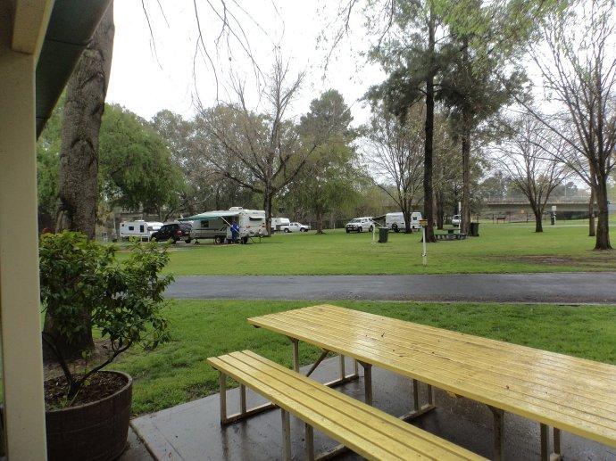 View of Cowra Van Park