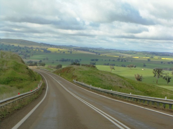 Barton Highway to Canberra