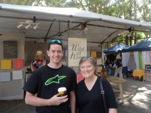 Mick & Ann at Eumundi Markets