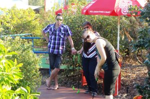 Mini Golf on Fathers Day